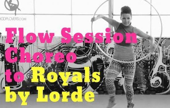 Short Hoop Choreo to Royals by Lorde