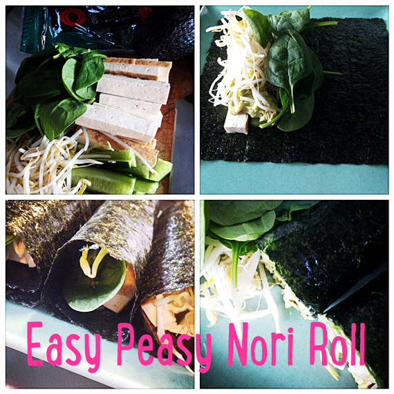 Wellbeing: Easy Peasy Nori Rolls For Ninjas
