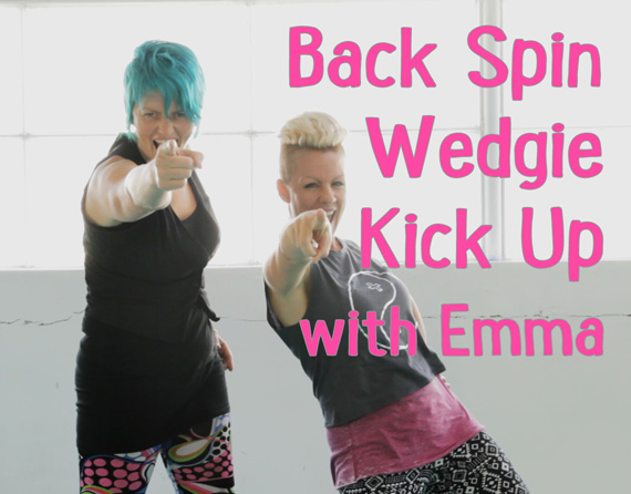 Back Spin Wedgie