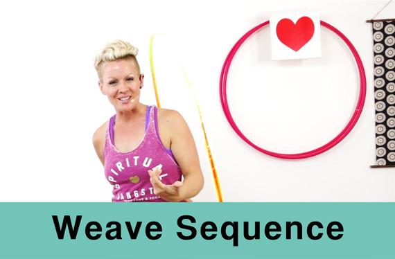 Hula Hoop Like a NInja. Weave Sequence