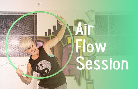 Air Flow Session – Hoop Dance Tutorial