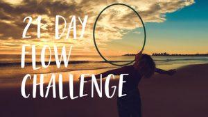 21 day hula hoop flow challenge