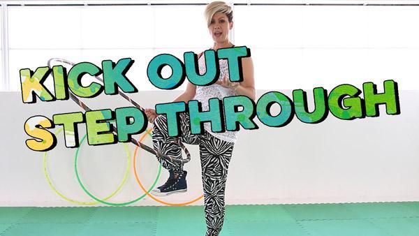 Leg Hooping Tutorial Kick Out Step Through