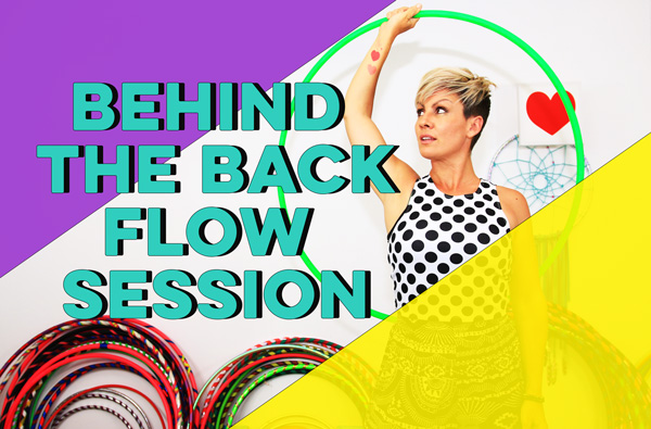 Dancing Hoop Moves Together – Behind the Back Flow Session
