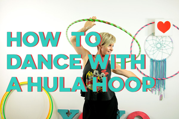 How to Dance with your hoop