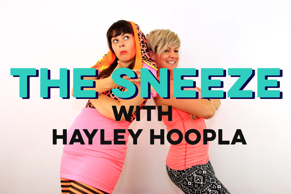 Hayley Hoopla Teaches Us to Sneeze