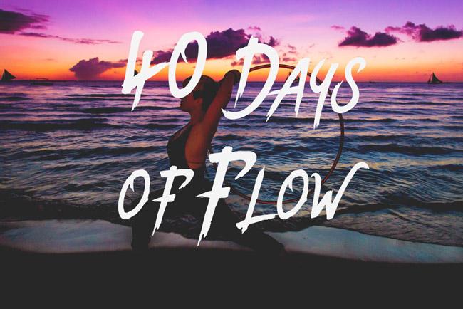 Hooplovers 40 Days of Flow Challenge