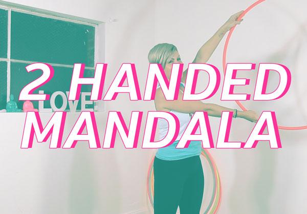 two handed mandala