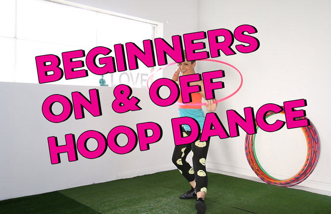 Beginners On and Off Body Hoop Dance