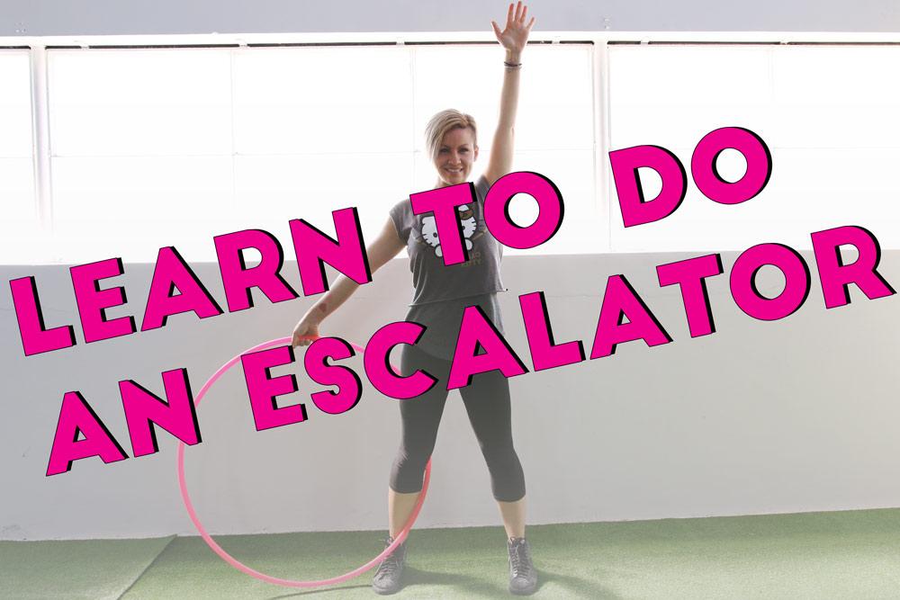 Escalator Hooping Tutorial by Deanne Love