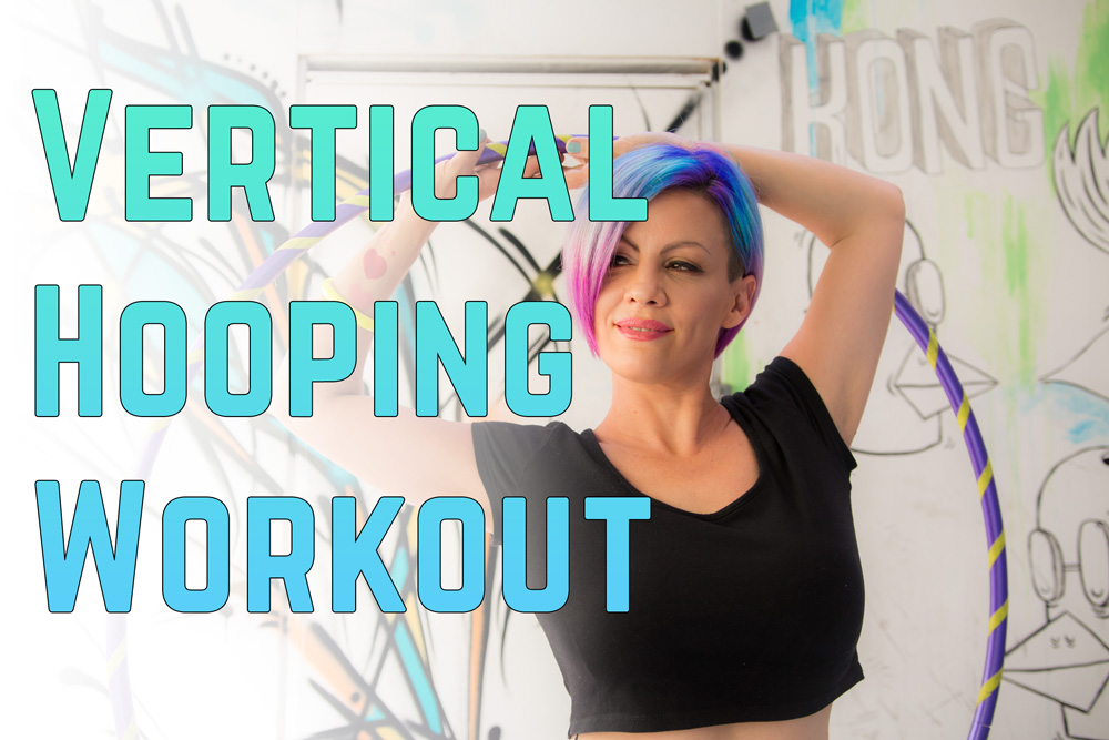 The Most Fun Way to Improve Your Core Strength – 4 Moves Hoop Workout