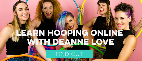 Hooplovers Online workshops with Deanne Love
