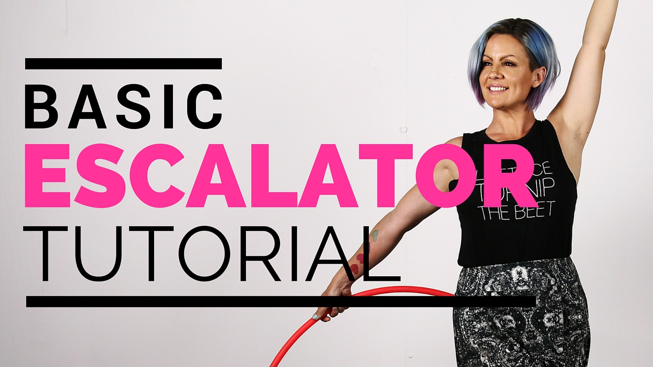 Basic Escalator Tutorial : Beginner Hoop Dance