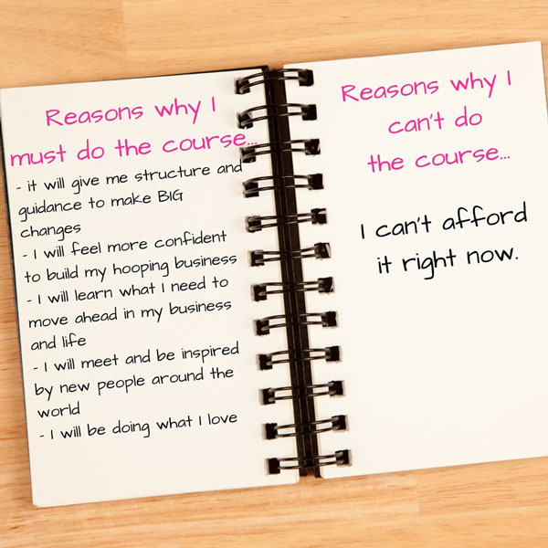 Make Yes Lists Hooplove Coach Training Note Book Image