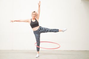 Hula Hoop Trick: Leg Hooping