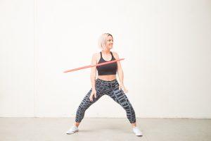 Hula Hoop Trick: Shoulder Hooping