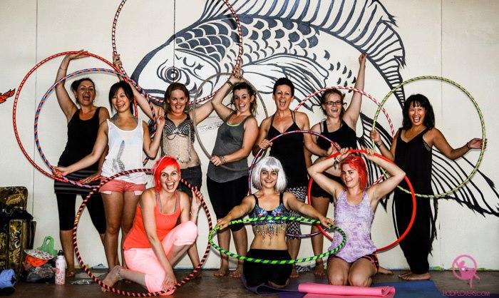 Hooplovers Hula Hoop Classes in Melbourne with Deanne Love