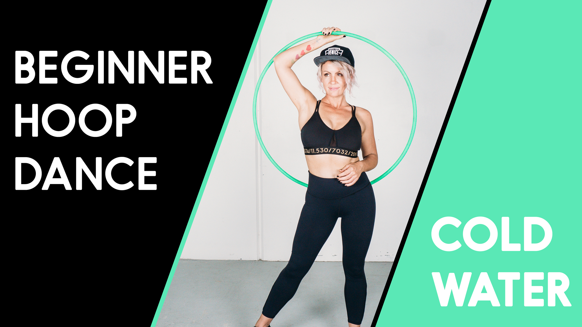 Beginners Hoop Love Your Body Workout : Cold Water by Major Lazer