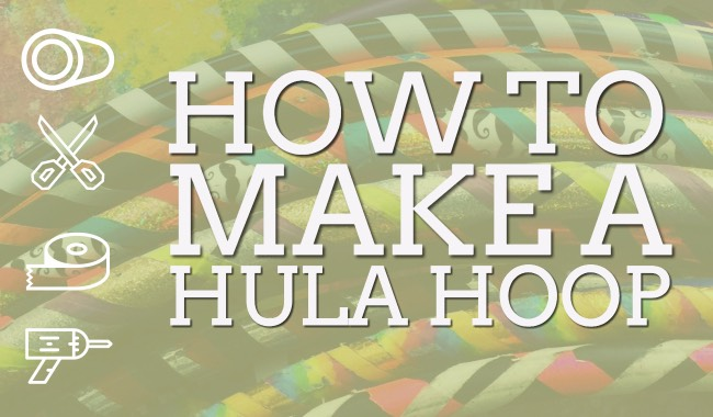 How to Make Hula Hoop DIY