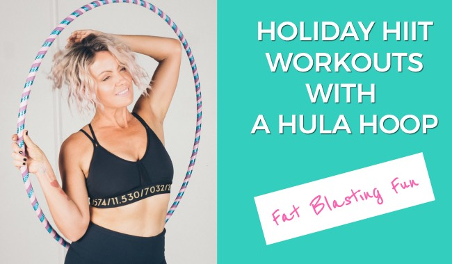 Holiday Hula Hoop WOrkouts