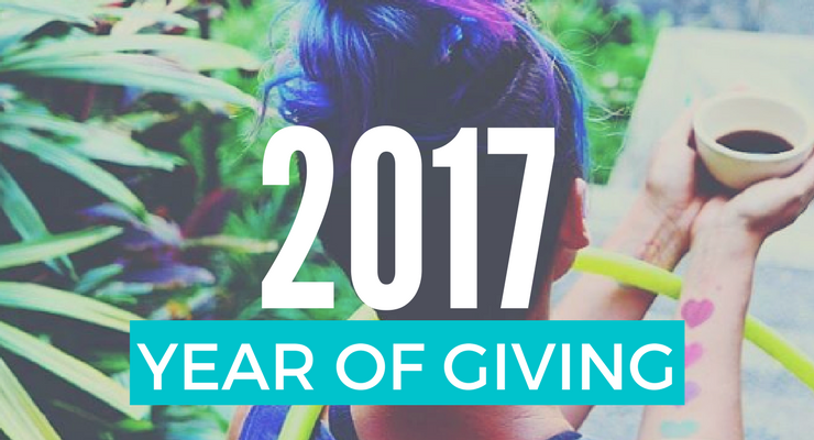 2017 : The Year of Giving