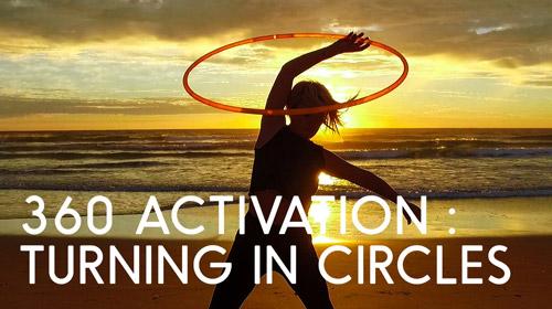 360 Activation Online Hula Hoop Workshop by Hooplovers Deanne Love