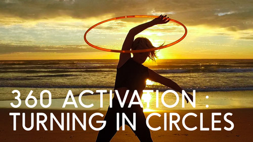 360 Activation Online Hula Hoop Workshop by Hooplovers Deanne Love