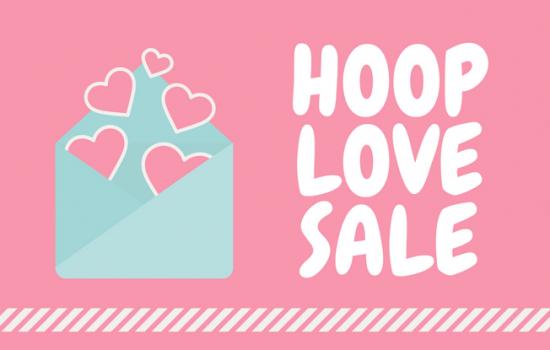 40% Off : Hoop Love Sale
