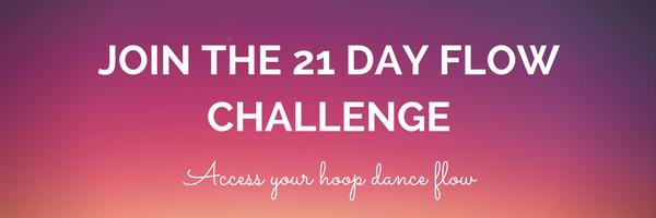 21 day hoop dance flow challenge