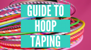 How to tape your hula hoops : 3 DIY hoop ideas