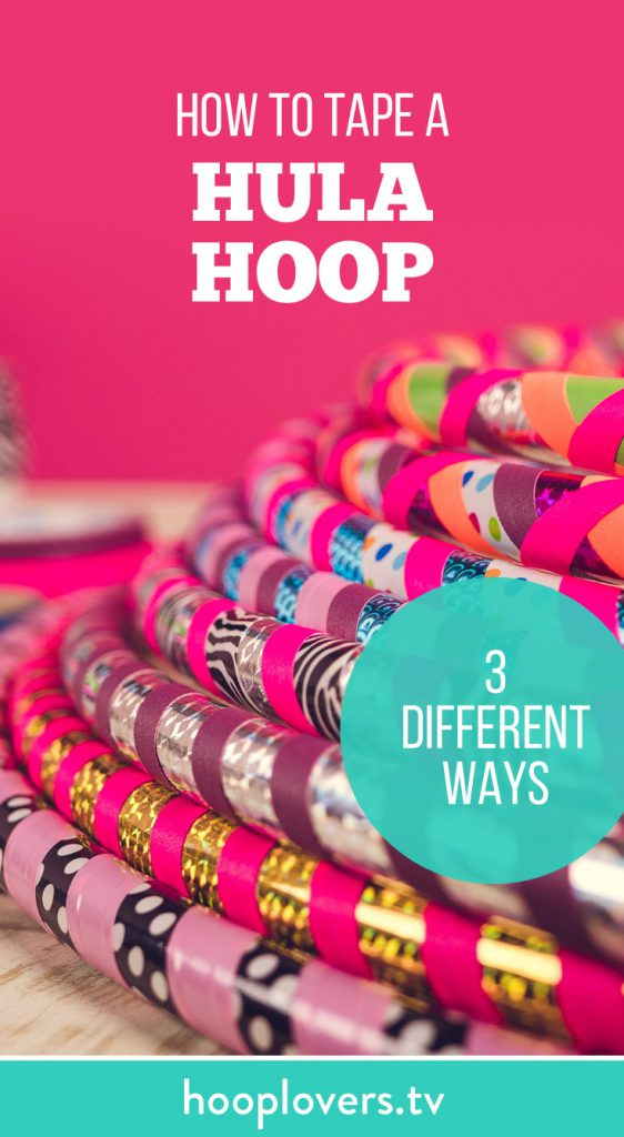 DIY craft ideas How to make a hula hoop