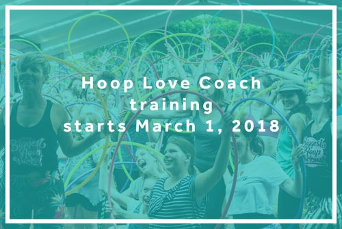Sign up for Hoop Love Coach training 2018