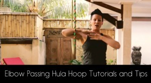 HOOPLOVERS Deanne Love Elbow Passing ( in front and back) Hula Hoop Tutorials and Tips