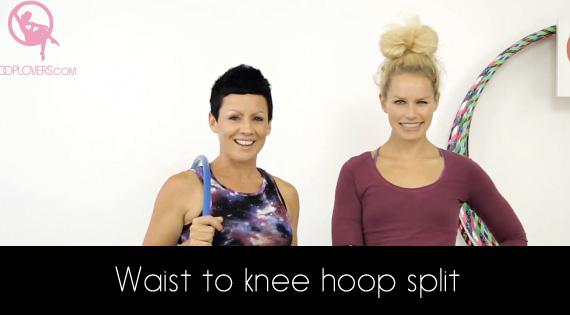 Lisa Lottie Waist to knee hoop split