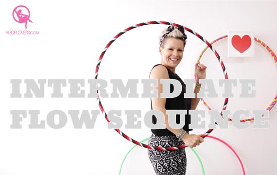 Hoopdance Tutorial Intermediate Flow Sequence by HOOPLOVERS Deanne Love