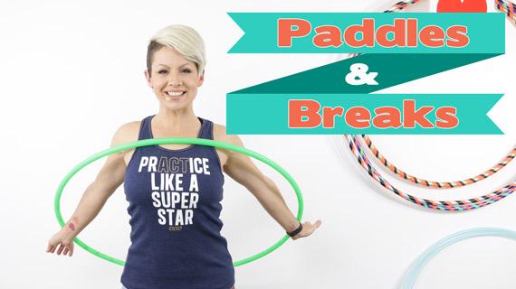 Paddles and Breaks Hoop Tutorial