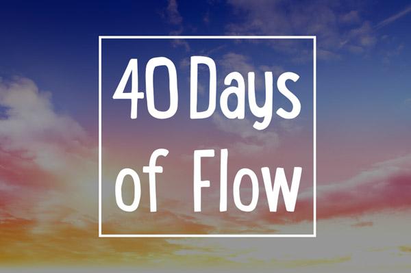 Hooplovers 40days of flow - Reinstall Habits