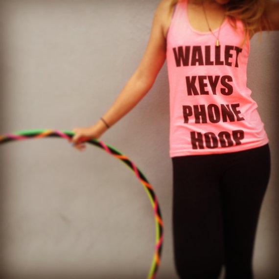 wallet keys phone hoop