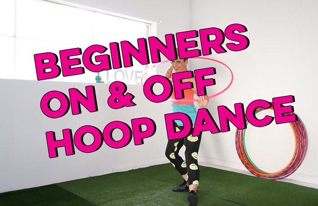 Beginners On Off Hoop Dance