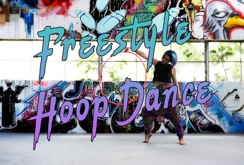 Freestyle Hula Hoop Dance with Deanne Love Irene warehouse