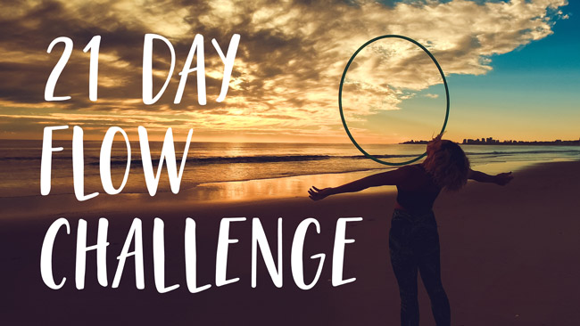 21 Day Hula Hoop Flow Challenge with Deanne Love HOOPLOVERS