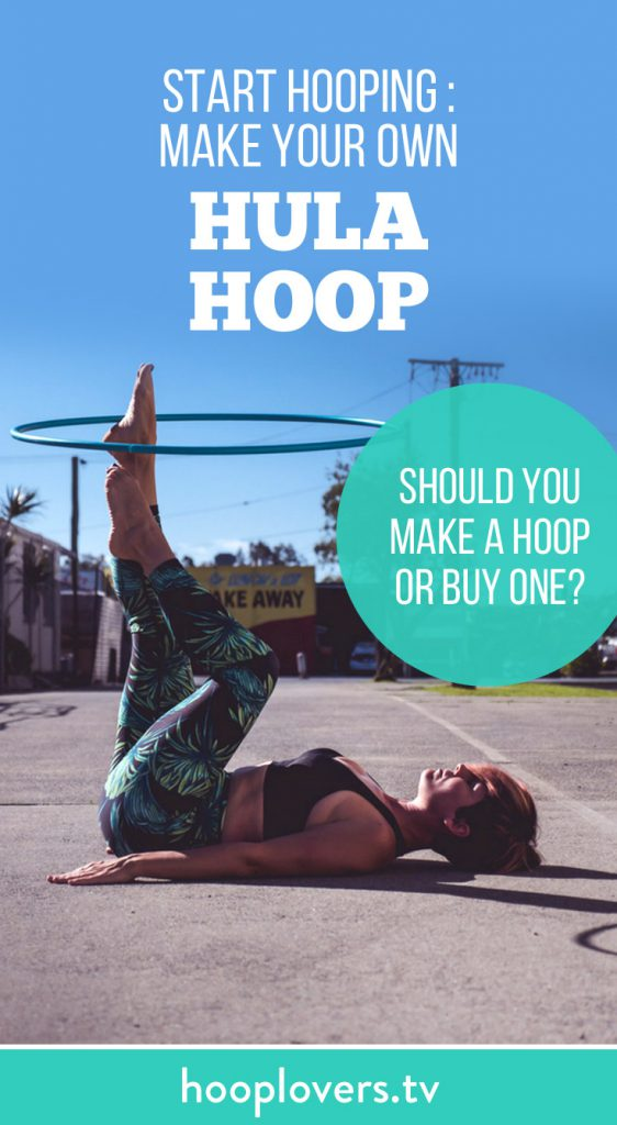 how to make a weighted hula hoop