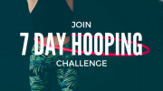 7 Day Waist Hooping Challenge : Starts the 1st of every month