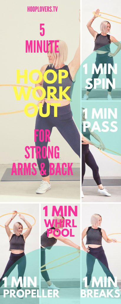 Hooplovers 5 Minute Hoop Workout
