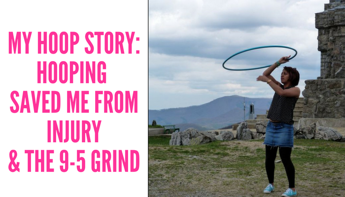 Ny Hula Hoop Story Hooping Saved my life