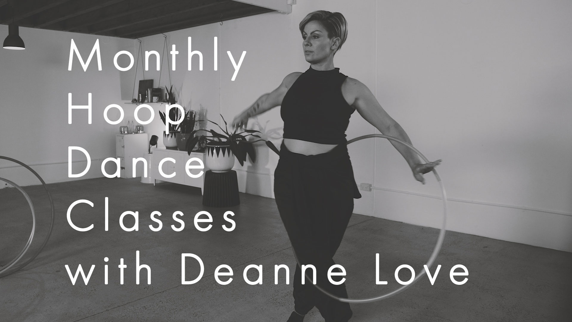 Monthly Hoop Dance Flow with Deanne Love