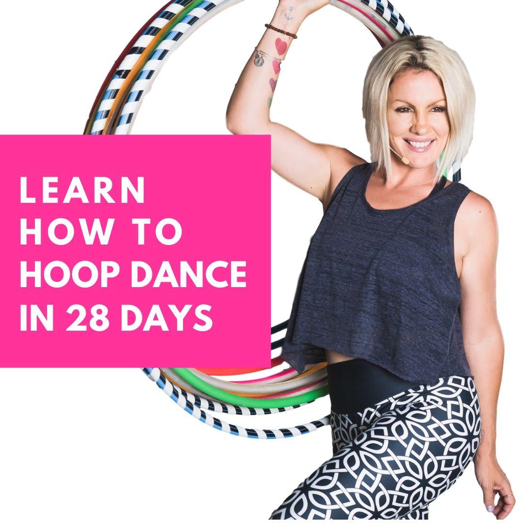 Learn Hoop Dance in 20 Days Online Hula Hoop Course with Deanne Love
