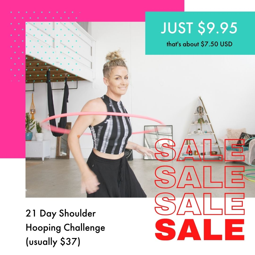 2020 Shoulder Hooping Flash Sale
