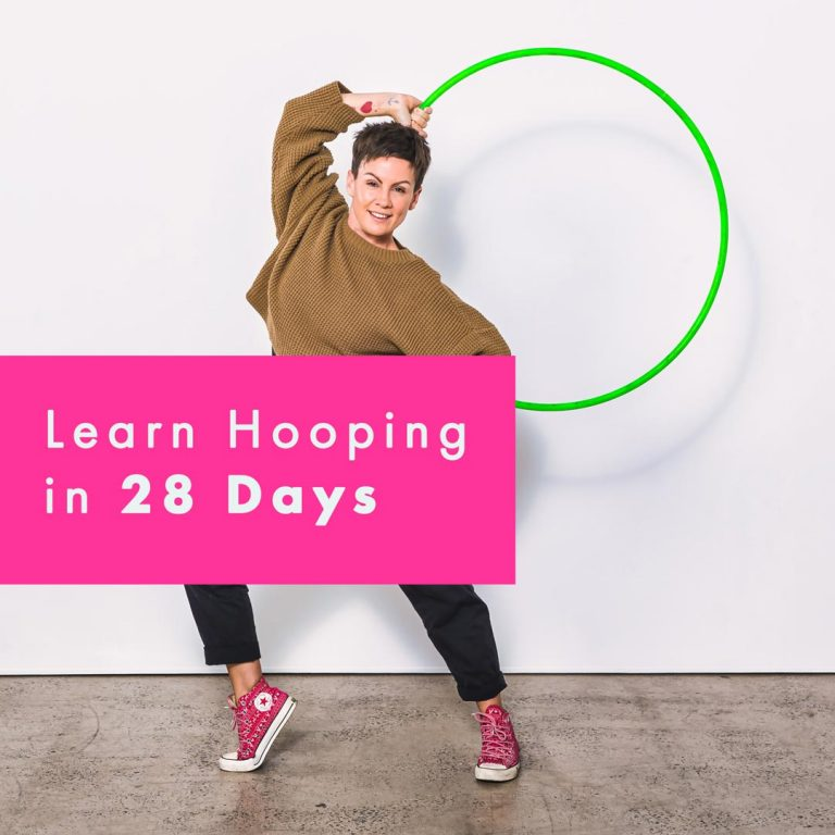 Learn How to Hoop Dance in 28 Days Pop up Deanne love